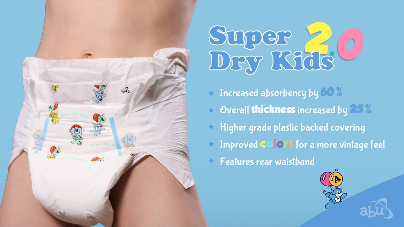 Super Dry Kids 2.0 Diaper Slider