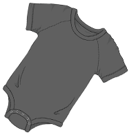 ABUniverse Coloured DiaperSuit Gray