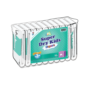Back Diapers Super Dry Kids