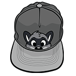 PeekABU Hat Raccoon